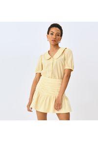Mohito - Koszula w kratę - Żółty. Kolor: żółty