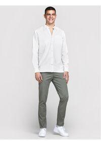 Jack & Jones - Jack&Jones Koszula Classic 12172736 Biały Slim Fit. Kolor: biały