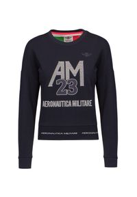 Aeronautica Militare - Bluza AERONAUTICA MILITARE. Materiał: prążkowany, dzianina, guma