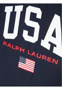 Niebieski strój jednoczęściowy Polo Ralph Lauren