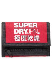 Czerwony portfel Superdry