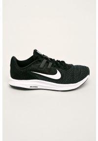 Czarne buty sportowe Nike z cholewką, z okrągłym noskiem