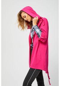 Bluza MOODO ze stójką, długa, z długim rękawem