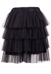 Czarna spódnica mini Born2be