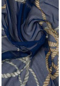 Sisley - Chusta. Kolor: niebieski