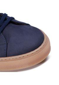 Sneakersy QUAZI - QZ-52-05-000866 107. Kolor: niebieski. Materiał: zamsz, nubuk, skóra. Szerokość cholewki: normalna