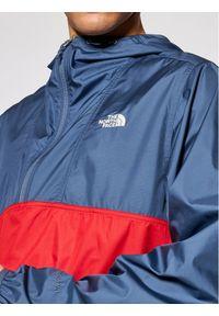 The North Face Kurtka anorak Cyclone NF0A5A3HY251 Granatowy Regular Fit. Kolor: niebieski