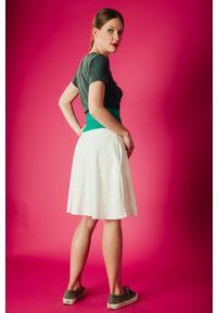 Spódnica Hultaj Polski na spacer, sportowa, w kolorowe wzory