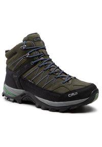 CMP Trekkingi Rigel Mid Trekking Shoe Wp 3Q12947 Zielony. Kolor: zielony. Sport: turystyka piesza