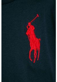 Niebieski t-shirt Polo Ralph Lauren casualowy, na co dzień