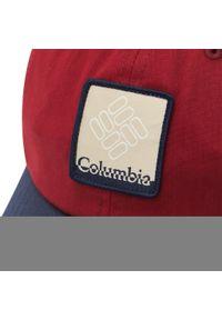 columbia - Czapka z daszkiem COLUMBIA - Roc II Hat 1766611 Red Jasper Coll Navy Gem Patch 665. Kolor: czerwony. Materiał: materiał, bawełna, poliester