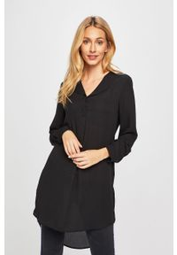 Czarna sukienka Vila mini, casualowa