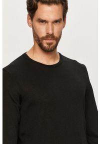 Czarny sweter JOOP! z długim rękawem, długi