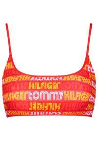 Czerwone góra bikini TOMMY HILFIGER