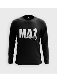 MegaKoszulki - Koszulka męska z dł. rękawem Mąż idealny. Materiał: bawełna