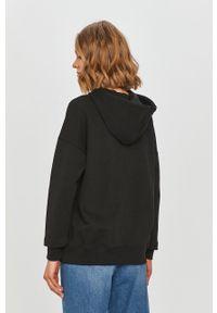 Czarna bluza only z długim rękawem, z kapturem, długa