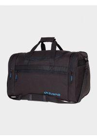 Czarna torba podróżna Everhill sportowa
