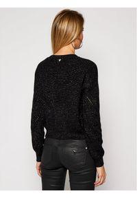 Guess Sweter Emma W1RR00 Z2BB0 Czarny Relaxed Fit. Kolor: czarny