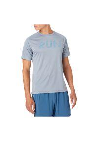 Koszulka męska do biegania Energetics Bueno 411750. Materiał: tkanina, materiał, poliester. Długość: długie. Wzór: nadruk. Sezon: lato. Sport: fitness