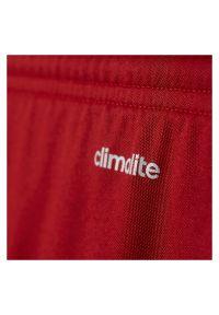 Adidas - Spodenki adidas Parma Jr AJ5881. Materiał: skóra, materiał, syntetyk. Technologia: ClimaLite (Adidas). Styl: młodzieżowy. Sport: piłka nożna