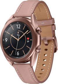 SAMSUNG - Smartwatch Samsung Galaxy Watch 3 Mystic Bronze 41mm Brązowy (SM-R850NZDAEUE). Rodzaj zegarka: smartwatch. Kolor: brązowy