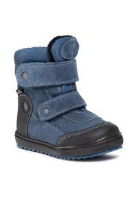 Niebieskie buty zimowe RenBut