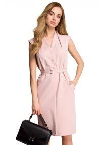 Sukienka elegancka, dopasowana