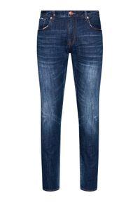 Armani Exchange Jeansy 3KZJ13 Z1LTZ 1500 Granatowy Slim Fit. Kolor: niebieski
