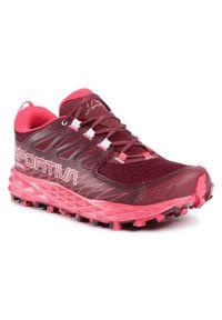 Czerwone buty do biegania LA SPORTIVA z cholewką, Gore-Tex