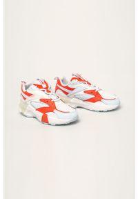 Wielokolorowe buty sportowe Reebok Classic z cholewką, z okrągłym noskiem