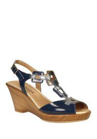 Niebieskie sandały Pitillos na co dzień, na lato