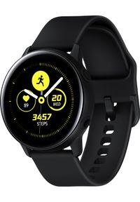 SAMSUNG - Smartwatch Samsung Galaxy Watch Active Czarny (SM-R500NZKAXEO). Rodzaj zegarka: smartwatch. Kolor: czarny