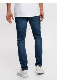 Only & Sons - ONLY & SONS Jeansy Loom 22008472 Granatowy Slim Fit. Kolor: niebieski #4