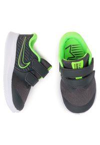 Nike - NIKE Buty Star Runner 2 (Tdv) AT1803 004 Szary. Kolor: szary