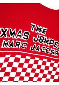 Little Marc Jacobs Sweter W15529 S Czerwony Regular Fit. Kolor: czerwony #4