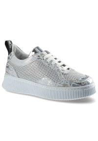Artiker - Sneakersy ARTIKER 46C2485 Srebrno-Biały. Kolor: srebrny, wielokolorowy, biały