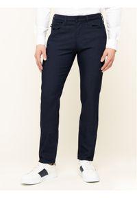 Niebieskie spodnie Emporio Armani