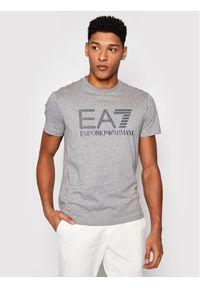 EA7 Emporio Armani T-Shirt 3KPT81 PJM9Z 3905 Szary Regular Fit. Kolor: szary