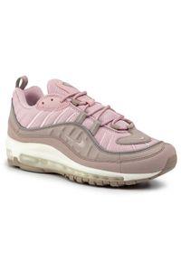 Różowe buty sportowe Nike z cholewką, Nike Air Max