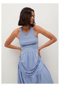 mango - Mango Sukienka letnia Casimira 17930143 Niebieski Regular Fit. Kolor: niebieski. Sezon: lato