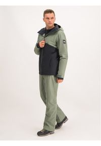 Zielone spodnie sportowe Quiksilver snowboardowe