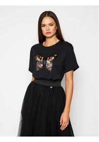 Czarny t-shirt TwinSet