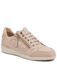 Geox Sneakersy D Myria C D0268C 08522 C8389 Beżowy. Kolor: beżowy