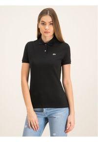 Czarna koszulka polo Lacoste polo