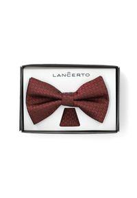 Czerwona muszka Lancerto klasyczna