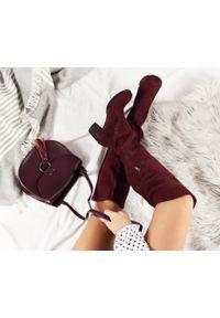 Kozaki Zapato w kolorowe wzory, z cholewką za kolano #4