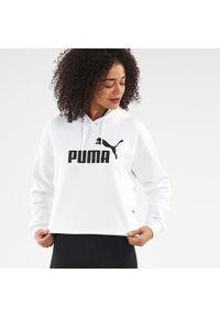 Puma - Bluza z kapturem fitness. Typ kołnierza: kaptur. Materiał: poliester, bawełna. Sport: fitness