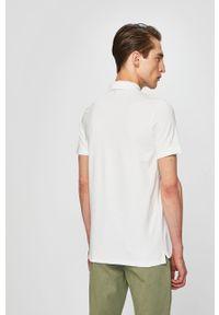 Biała koszulka polo Selected polo, casualowa