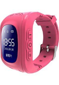 Różowy zegarek Frahs smartwatch