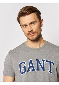 GANT - Gant T-Shirt Arch Outline 2003007 Szary Regular Fit. Kolor: szary